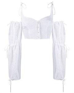 Daizy shely блузка с английской вышивкой 44 белый Daizy shely