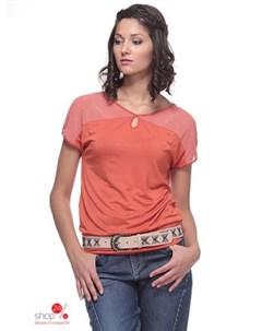 Блуза цвет оранжевый Bravissimo
