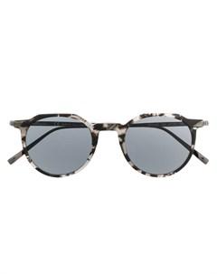 Salvatore ferragamo eyewear солнцезащитные очки в круглой оправе 47 черный Salvatore ferragamo eyewear