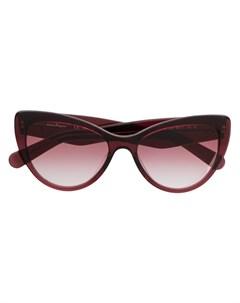 Salvatore ferragamo eyewear солнцезащитные очки в оправе кошачий глаз Salvatore ferragamo eyewear