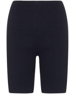 N duo облегающие шорты в рубчик с завышенной талией N duo