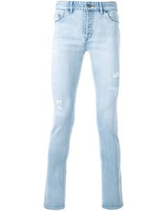 Hl heddie lovu джинсы скинни с линялым эффектом 27 синий Hl heddie lovu