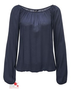 Блуза цвет синий Haily's