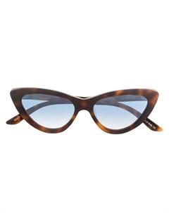 Christian roth eyewear солнцезащитные очки в оправе кошачий глаз Christian roth eyewear
