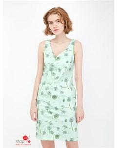 Платье цвет зеленый Alena alenkina