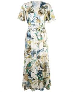 Petersyn платье tayla portofino нейтральные цвета Petersyn