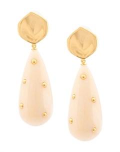 Lizzie fortunato jewels серьги prism один размер нейтральные цвета Lizzie fortunato jewels