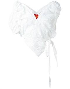 Vivienne westwood red label асимметричный топ с v образным вырезом Vivienne westwood red label