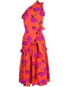 Borgo de nor платье асимметричного кроя с цветочным принтом Borgo de nor