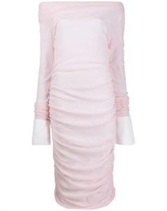 Jourden платье с открытыми плечами Jourden