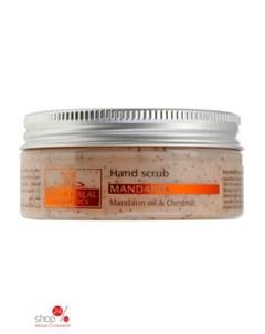 Скраб для рук с мандариновым маслом и каштаном MANDARIN 75 мл Milla halal cosmetics