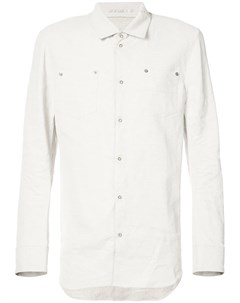 Taichi murakami рубашка на кнопках с нагрудными карманами 48 серый Taichi murakami