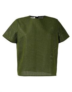 Jourden футболка с вышивкой Jourden