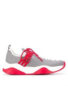 armani exchange кроссовки на шнуровке с логотипом Armani exchange