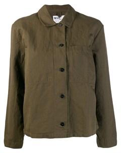 Margaret howell куртка рубашка в стиле милитари m зеленый Margaret howell