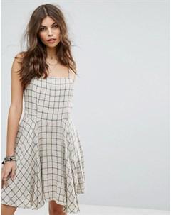 Пляжное платье в клетку Lira