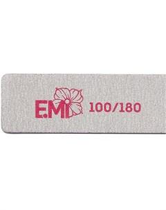 Пилка для ногтей 100 180 Zebra Maxi Emi