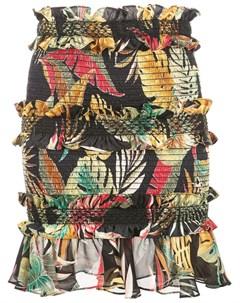 Petersyn юбка chandler с цветочным принтом Petersyn