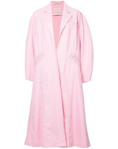Assel тренч свободного кроя 38 розовый Assel