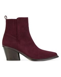 Sartore ботинки на каблуке в стиле вестерн 39 5 красный Sartore