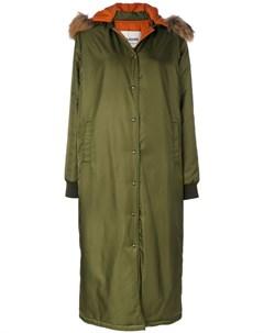 Ava adore удлиненное пальто с капюшоном Ava adore