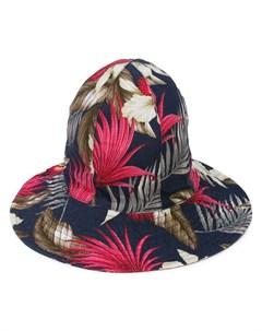 Engineered garments шляпа с принтом Engineered garments