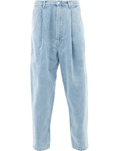 Hed mayner джинсы свободного кроя с высокой посадкой 44 синий Hed mayner