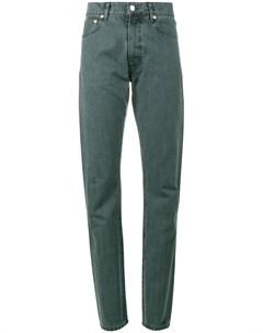 Holiday прямые джинсы с завышенной талией 26 синий Holiday