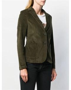 T jacket классический приталенный блейзер m зеленый T jacket