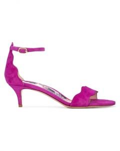 Marion parke босоножки на каблуке рюмка 37 фиолетовый Marion parke