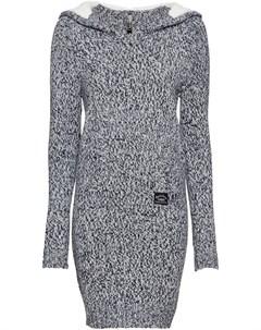 Вязаное платье анорак Bonprix