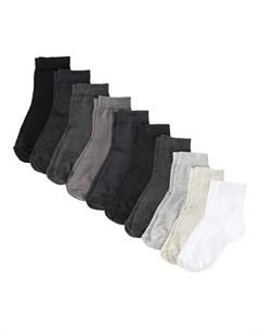 Носки короткие 10 пар Bonprix