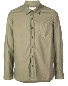 Remi relief рубашка на пуговицах s зеленый Remi relief