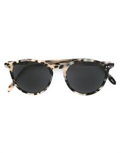 Pantos paris солнцезащитные очки с круглой оправой один размер нейтральные цвета Pantos paris