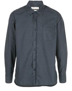 Remi relief рубашка на пуговицах l синий Remi relief