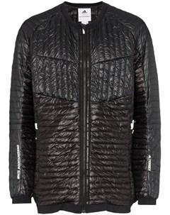 Adidas by white mountaineering куртка пуховик без капюшона Adidas by white mountaineering