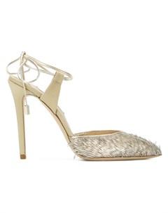 Olgana туфли с ремешками lattachante 37 металлик Olgana