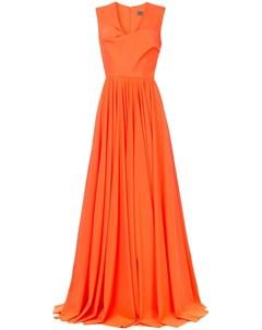 Greta constantine вечернее платье kamina с v образным вырезом Greta constantine