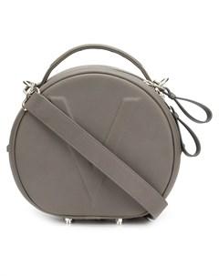 Valas сумка тоут с тиснением v один размер серый Valas