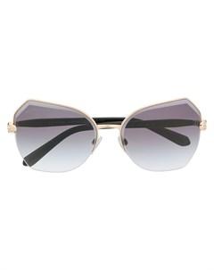 Декорированные солнцезащитные очки Bulgari