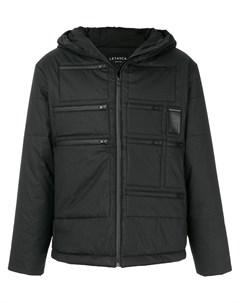 Letasca стеганая куртка на молнии m черный Letasca