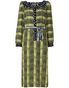 Duro olowu платье туника с комбинированным принтом 6 черный Duro olowu