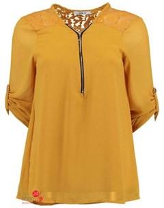 Блуза цвет желтый Haily's