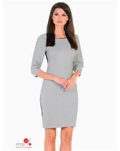 Платье цвет серый Alena alenkina