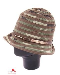 Шляпа цвет темно зеленый Rebecca