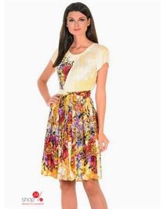 Платье цвет желтый Alena alenkina