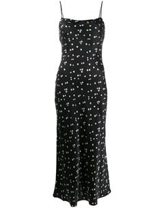 Bec bridge платье комбинация длины миди 6 черный Bec & bridge
