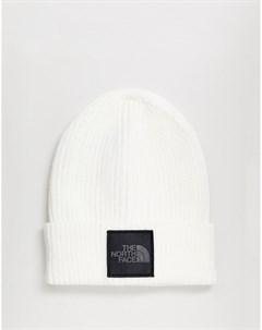 Белая серебристая шапка бикини с квадратным логотипом со светоотражающей отделкой Lunar Белый The north face