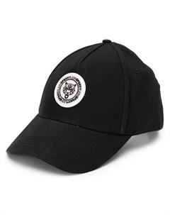 Plein sport бейсболка с нашивкой логотипом один размер черный Plein sport
