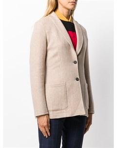 T jacket однобортный блейзер s нейтральные цвета T jacket